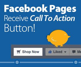 Facebook Pages Receive Calls To Action!